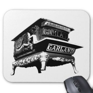Detroit Garland Giant Stove Mouse Pad