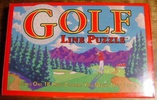 Golf Line Puzzle   This is One 18 Hole Course You Might Not Finish Toys & Games