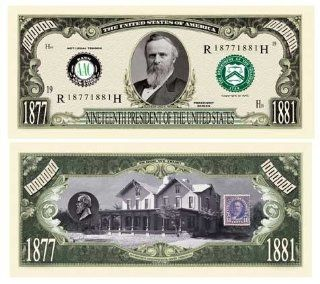 Rutherford B. Hayes Million Dollar Bill Case Pack 100: Toys & Games