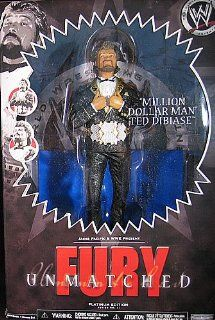 WWE Unmatched Fury Platinum Edition Figure Million Dollar Man Ted Dibiase: Toys & Games