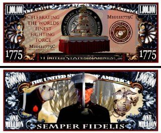 Marine Corps Semper Fidelis Birthday $Million$ Dollar Bill