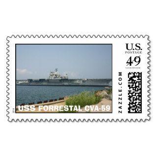 Forrestal Stamp, USS FORRESTAL CVA 59