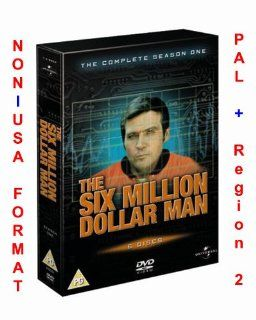 The Six Million Dollar Man: Complete Season One [Region 2]: Lindsay Wagner, Lee Majors, Richard Anderson, Farrah Fawcett, Richard Donner, Richard Irving, CategoryArthouse, CategoryClassicFilms, CategoryCultFilms, CategoryMiniSeries, CategoryUSA, Festival E
