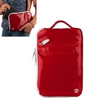 Vangoddy Select 7 inch Red Gloss Hydei MID Coby Clutch Bag for the kyros , 7012 , 7014 , 7016 , 7125 , 7127 , Android , telechips , google , 16 million colors , gorilla glass Model!!!: Cell Phones & Accessories