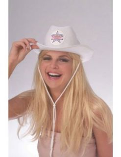 Dallas Cheerleader Hat Adult Costume Halloween Costume   Most Adults Clothing