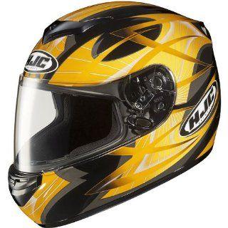 HJC Storm Men's CS R2 On Road Motorcycle Helmet   MC 3 / X Large Automotive