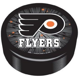 NHL Philadelphia Flyers Logo Hockey Puck *SALE* : Sports & Outdoors