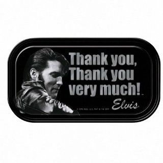 Elvis Presley Thank You Very Much Magnetic Mini Tin Sign Toys & Games