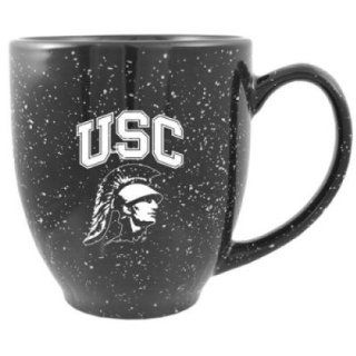 Usc Trojans 16oz Ceramic Bistro Coffee Mug : Sports Water Bottles : Sports & Outdoors