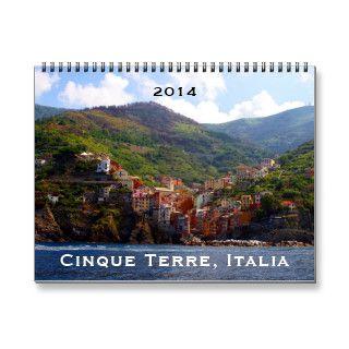 cinque terre 2014 calendars