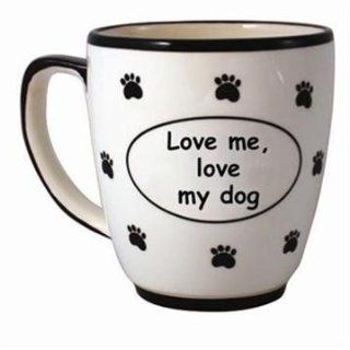 Tumbleweed 'LOVE ME, LOVE MY DOG' Pet Coffee Mug Kitchen & Dining