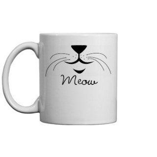 Cat Whiskers Mug 11oz Ceramic Coffee Mug