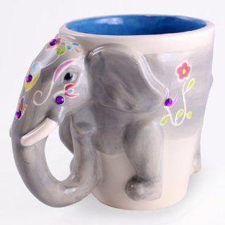 Elephant 3D Coffee Mug Coffee Cups Kitchen & Dining