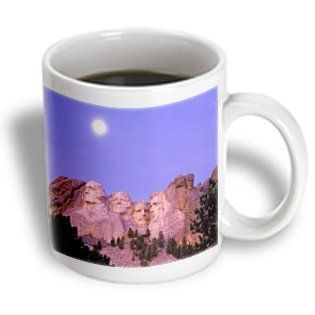 3dRose mug_56085_1 Mt. Rushmore South Dakota Ceramic Mug, 11 Ounce Kitchen & Dining