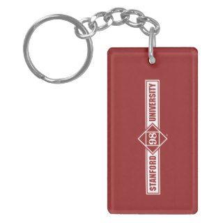 Stanford University Class of 98 Diamond Acrylic Key Chain