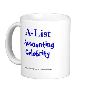 A List Accounting Celebrity (6) Coffee Mugs