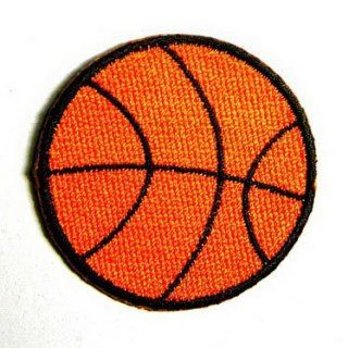 "Basketball Ball Sport NBA 1.75"" Appliques Hat Cap Polo Backpack Clothing Jacket Shirt DIY Embroidered Iron On / Sew On Patch"