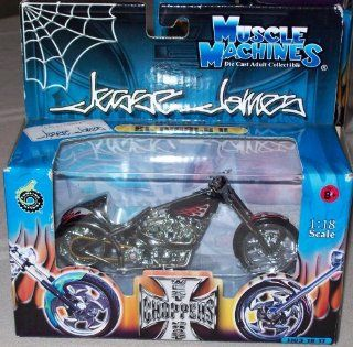 West Coast Choppers Jesse James 1:18 Scale   EL Diablo II JJ03 18 17: Toys & Games