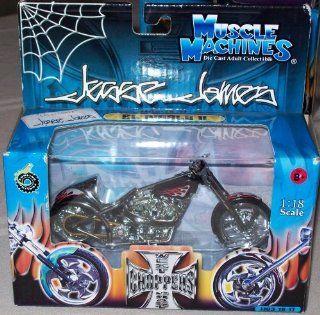 West Coast Choppers Jesse James 118 Scale   EL Diablo II JJ03 18 17 Toys & Games