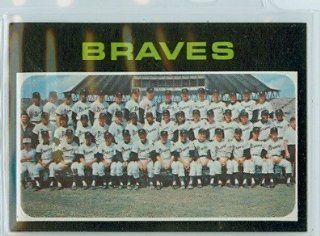 1971 Topps Baseball 652 Braves Team Near Mint to Mint High Number at 's Sports Collectibles Store