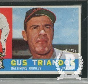 1960 Topps #60 Gus Triandos   GAI NmMt (8) at 's Sports Collectibles Store