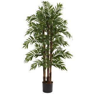Nearly Natural 5405 Parlor Palm Tree, 4 Feet, Green   Artificial Trees