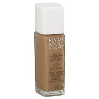 Revlon Nearly Naked Makeup, True Beige, 1 oz : Foundation Makeup : Beauty