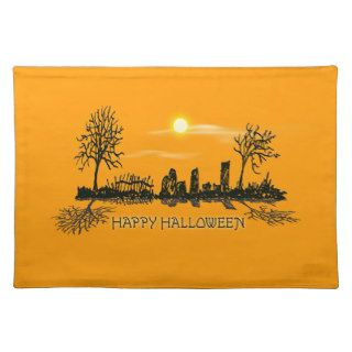 Happy Halloween Placemats