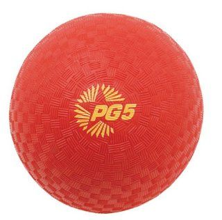 Champion Sports Playground and Kickball Nylon 5 Inch Red Balls(the ball needs inflation) : Pure Barre : Sports & Outdoors