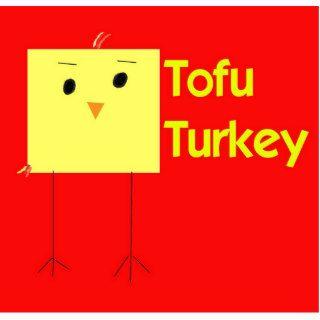 Tofu Turkey Key Chain Red Photo Cut Outs