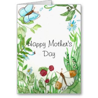 Summer fantasy Mother's day Greeting Card