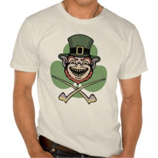 Lucky Evil Leprechaun T shirt