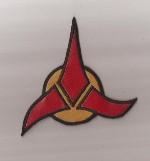 Klingon Next Gen. Emblem Vinyl Patch  Star Trek: Everything Else