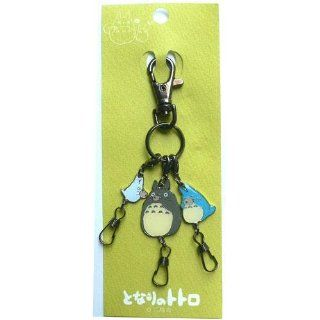 Nakayoshi Totoro Keychain next (key chain charm three were continuous) Toys & Games