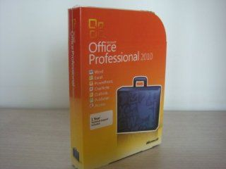 Microsoft Office Professional 2010 Brand New Retail Sealed for 1 PC: Software