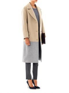 Bi colour wool coat  Richard Nicoll