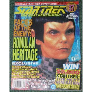 Star Trek The Next Generation Magazine: Volume 27 1992 93: Books
