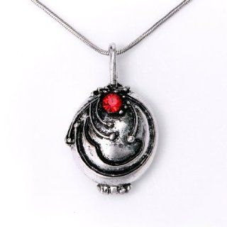 The Vampire Diaries Vampire Elena Vervain Necklace (antique silvery): Beauty