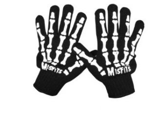 The Misfits   Skeleton Hand Gloves Mens Gloves in None, Size: O/S, Color: None: Clothing