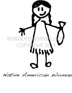 Native American Woman: Automotive
