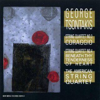 George Tsontakis String Quartets Nos. 3 & 4 Music