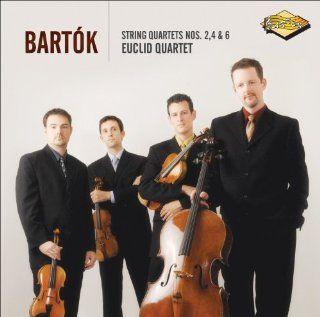 Bartok String Quartets Nos. 2, 4, & 6 ~ Euclid Quartet Music