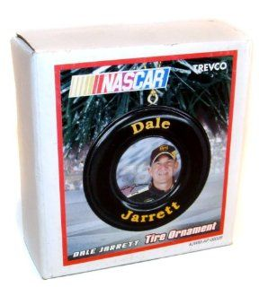 2005 Trevco Dale Jarrett NASCAR Tire Christmas Tree Ornament   NOS : Everything Else