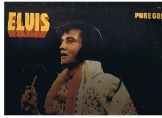1975 Elvis Presley Pure Gold Vinyl LP Record Music
