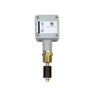 "Madison M4168 1 FM Brass Normally Open Drum Level Indicator with Fixed Mount and High Alarm, 30 Watt SPST, 3/4"" NPT, 150 psig Pressure: Electronic Component Liquid Level Sensors: Industrial & Scientific"