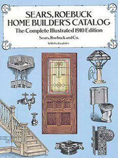 Dollhouse  ROEBUCK HOME BUILDERS CATALOG: Toys & Games