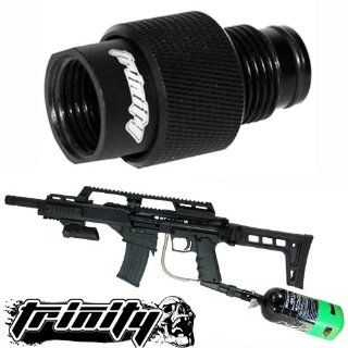 Trinity Paintball Standard On off for Bt Slice Paintball Gun, bt 4 Paintball Gun, Bt Combat Paintball Gun On off Asa, Bt Omega Paintball Gun On off, Tippmann Paintball Gun On off, Bt Slice Asa with On off, Paintball Tank Thread Saver with On off System, Ti
