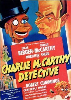 Charlie McCarthy, Detective Edgar Bergen, Charlie McCarthy, Robert Cummings, Frank Tuttle Movies & TV