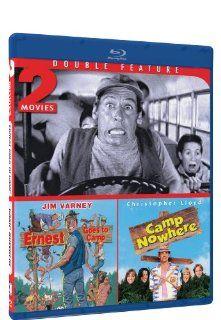 Ernest Goes to Camp & Camp Nowhere   Blu ray Double Feature: Jim Varney, Victoria Racimo, John Vernon, Christopher Lloyd, Jonathan Jackson, Wendy Makkena, John R. Cherry III, Jonathan Prince: Movies & TV