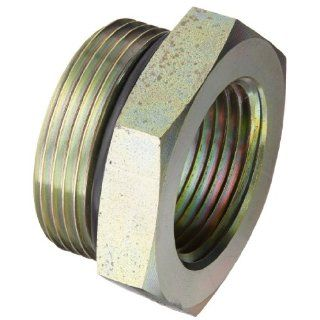 "Eaton Weatherhead C3269X20X16 Carbon Steel Fitting, Adapter, 1"" NPT Female x 1 1/4"" O Ring Boss Male: Industrial Pipe Fittings: Industrial & Scientific"